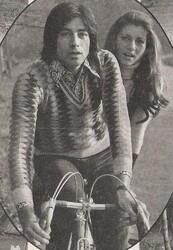Mi-novembre 1973 : Tandem (moi la main !!!)