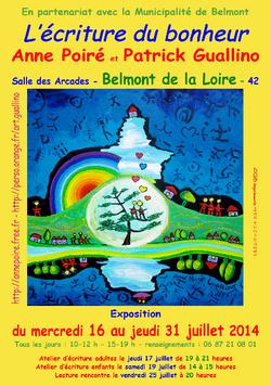Exposition - Belmont de la Loire Anne Poiré et Patrick Guallino
