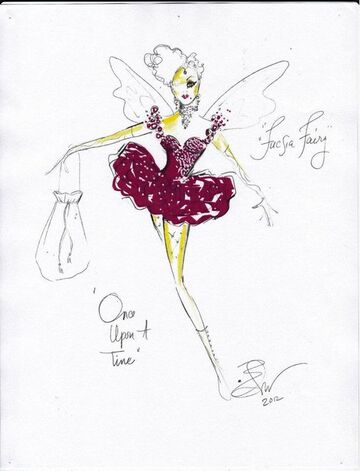 """""""Once upon a time"""", Fucsia Fairy:"""