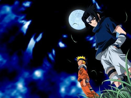 Naruto et Sasuke amis et rivaux