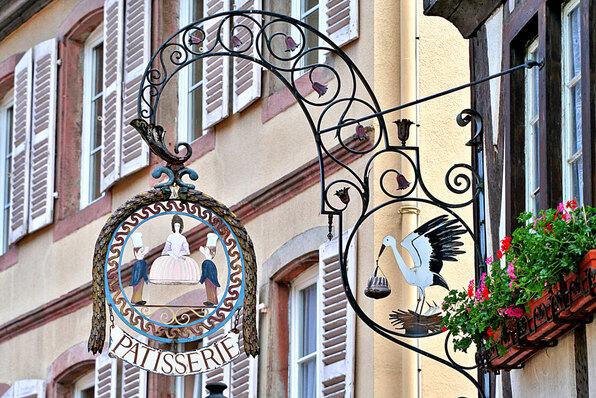 Enseignes en Alsace