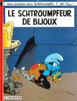 Le Schtroumpfeur de bijoux - Thierry Culliford