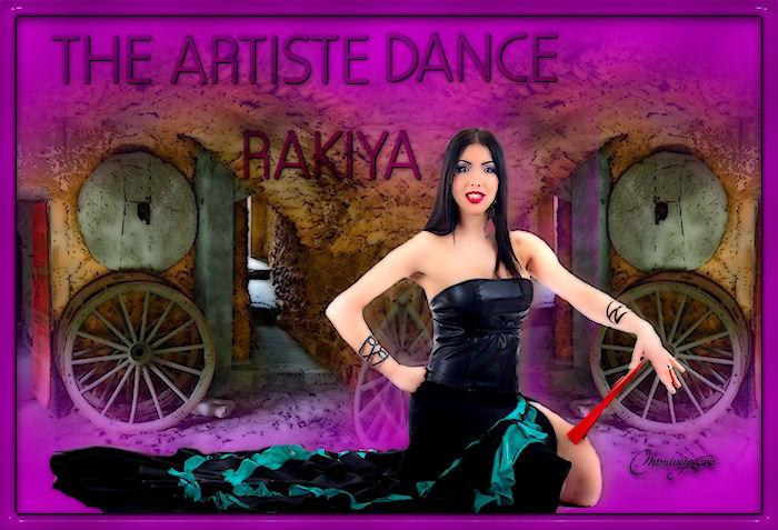 The artiste dance Rakiya