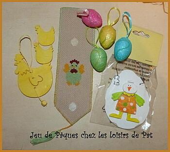 Jeux de Pâques.