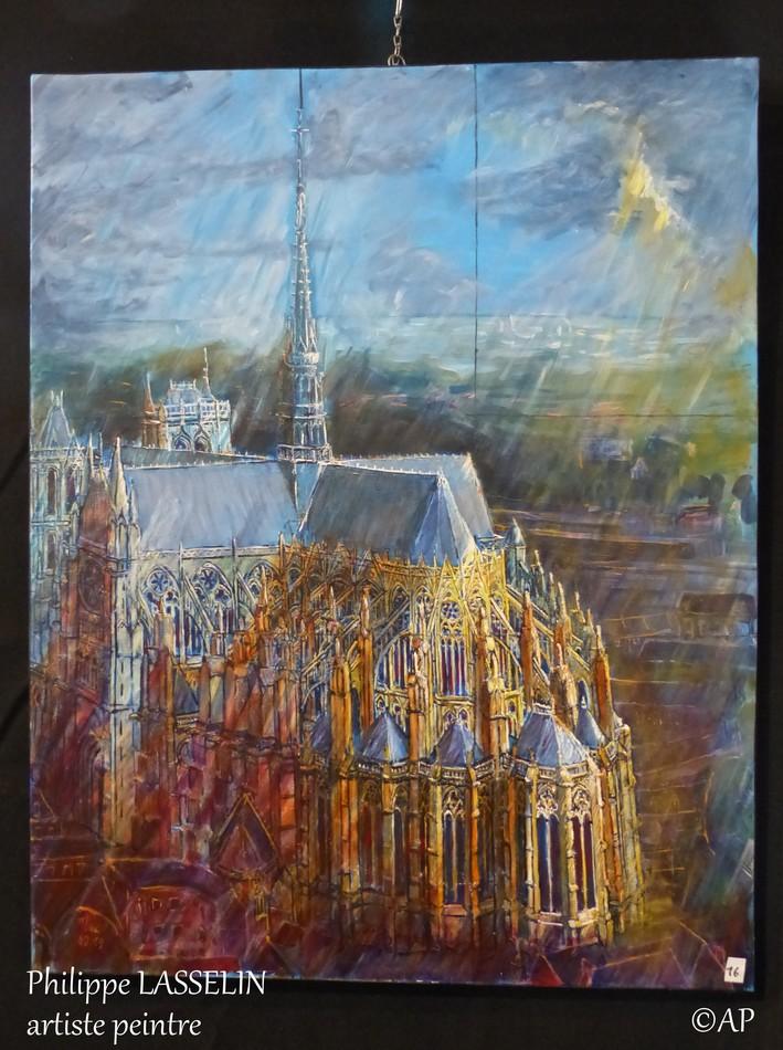 Philippe LASSELIN et la Cathédrale d'Amiens