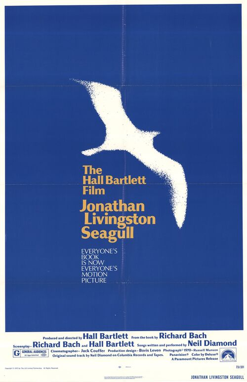 JONATHAN LIVINGSTON BOX OFFICE USA 1973