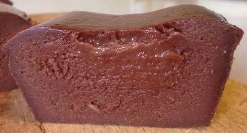 Ultra FONDANT light au chocolat noir & compote de pomme ~ Attention TUERIE !!!