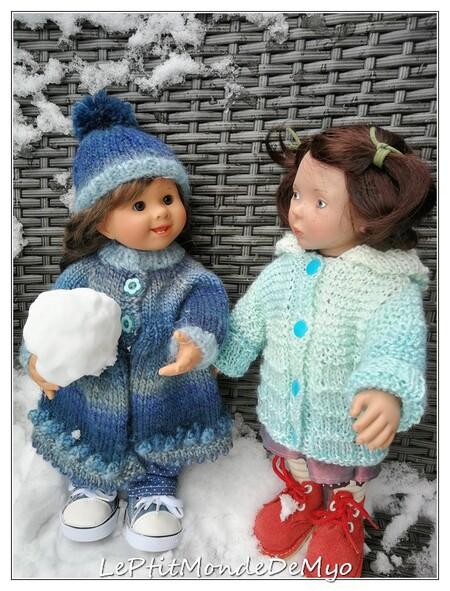Youpiiiiii la neige est enfin arrivée !!!