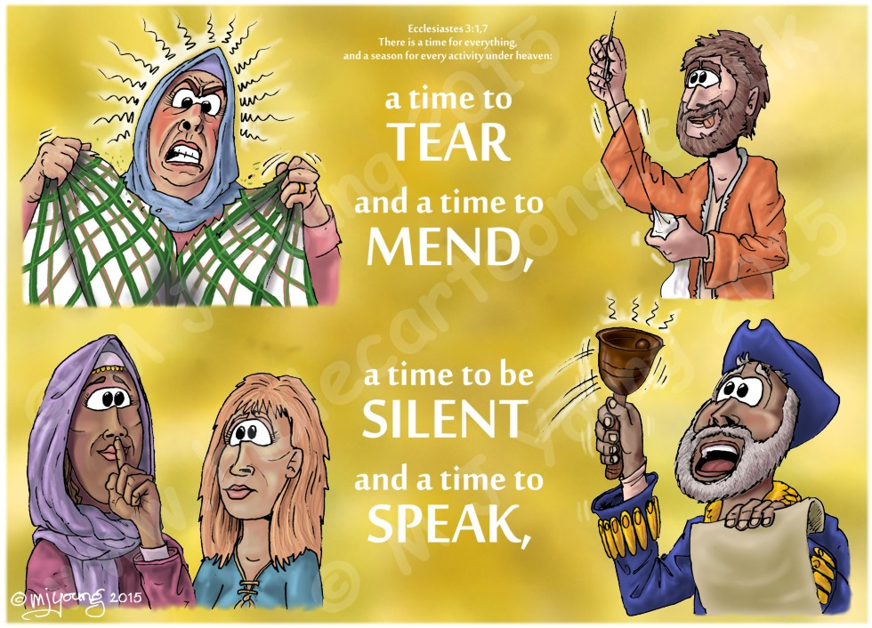 Ecclesiastes 03 - A time for everything - Scene 06 - Tear, mend, silent, speak