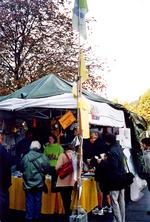 Infostand der Parkschützer in Stuttgart