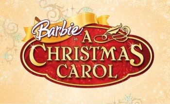 Logo de Barbie et La Magie de Noël