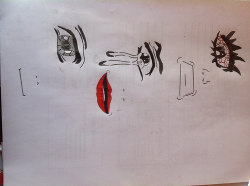 Oeils bouches entrainements