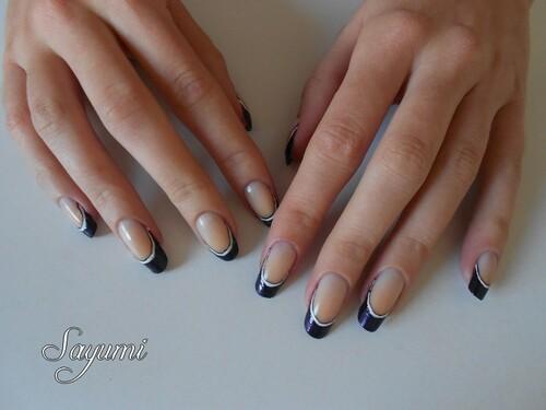 Nail Art French base de NA