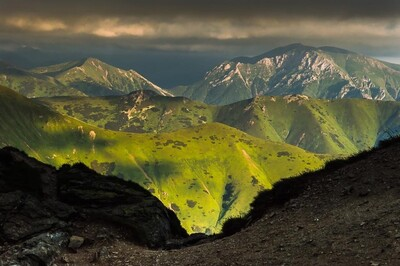 LES TATRAS FRONTIERE SLOVAQUIE/POLOGNE