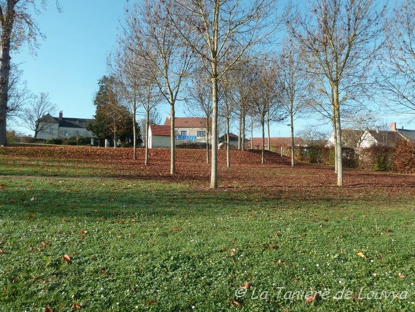 Parc  de Beaulieu sur Loire, Lady l'adore