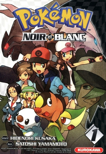 Pokémon noir et blanc - Tome 01 - Hidenori Kusaka & Satoshi Yamamoto