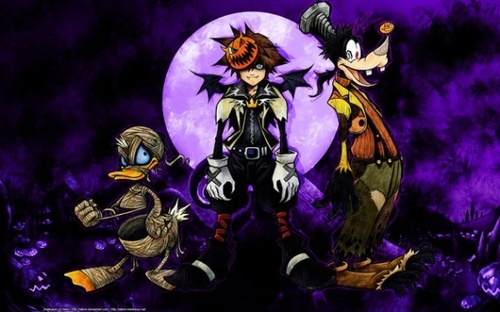Image d'Halloween de Kingdom Hearts