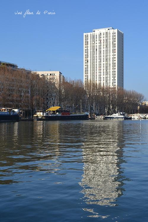 Canal de l'Ourcq, Bassin de la Villette