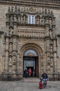 28 mai 2017 - 17e jour de marche : A Rua - Santiago