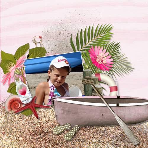 Rosy beach