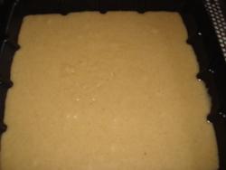 """Blondies au caramel """"fleur de sel"""" et beurre de cacahuètes"""