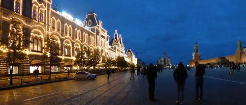 Voyage Transsibérien 2017, le 09/07, 2ème jour, Moscou en soirée