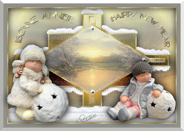 Bonne année et gros bisous à tous