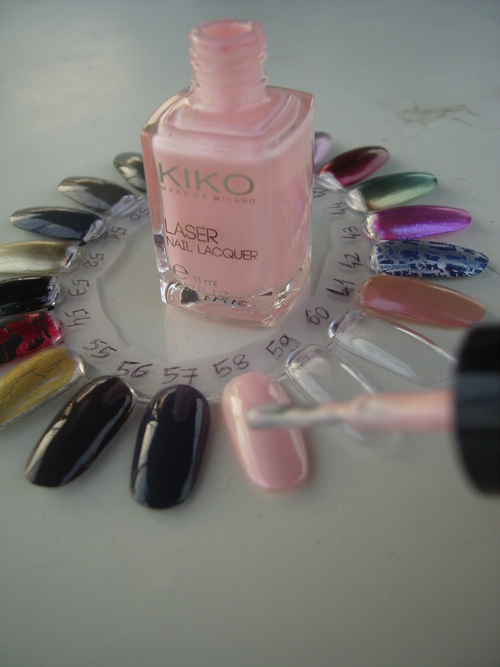 Swatch : Kiko - Sensual Candy - n° 431 - Laser collection