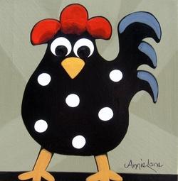 La poule, Le poussin - art et bricolage