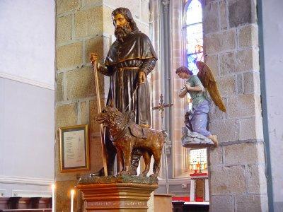 Saint Hervé. Abbé en Bretagne († 568)