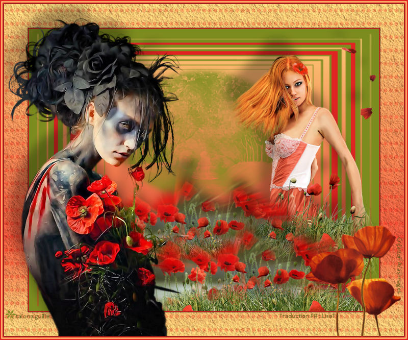 *** 319.Poppy Twins ***