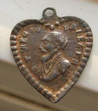 Médaille de St Jean François Régis