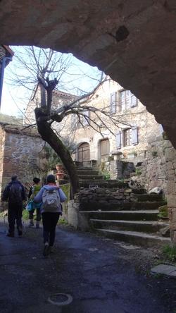 les hauts de St Rome de Tarn
