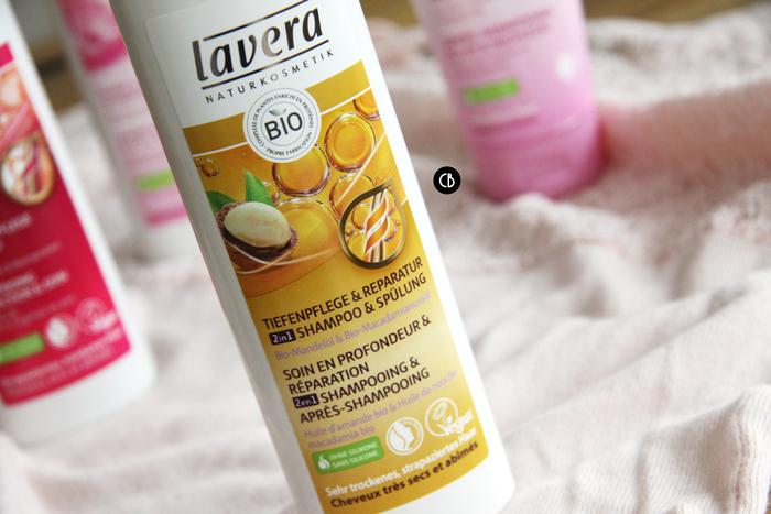 Nouveaux shampoings Lavera