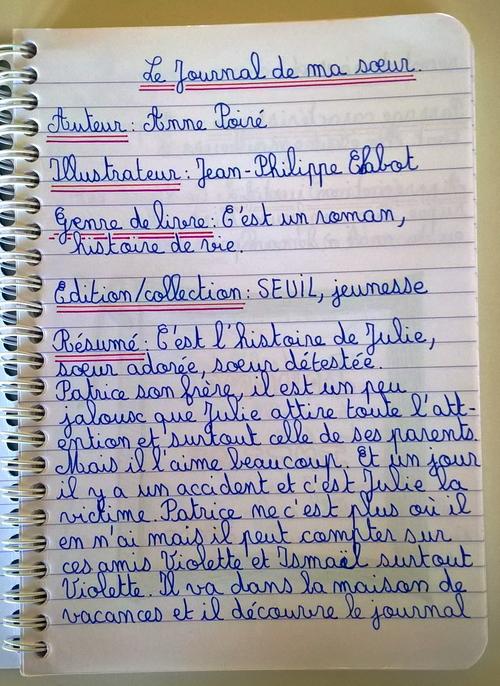 Le journal de ma sœur - éditions du Seuil