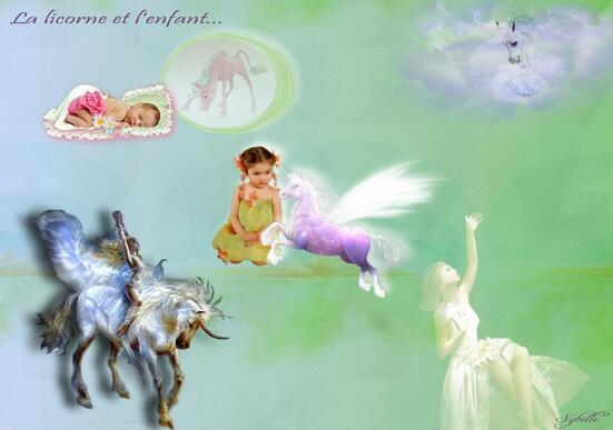 La licorne & l'enfant