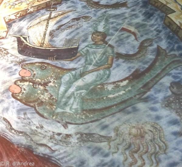 Monastère de Humor, déesse de la mer