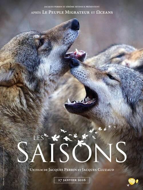 LES SAISONS de Jacques Perrin et Jacques Cluzaud, au cinéma le 16 décembre 2015 - Découvrez la première affiche et suivez les animaux sauvages avec le teaser !