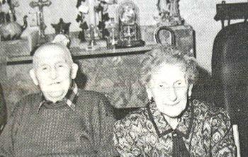 Maredret - Noces de fonte des époux Jules COLLART et Claire GRAVY.