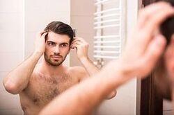 De beaux cheveux sainement