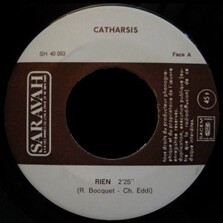 CATHARSIS 45T 1972 promo