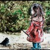Margaux et le petit corbeau