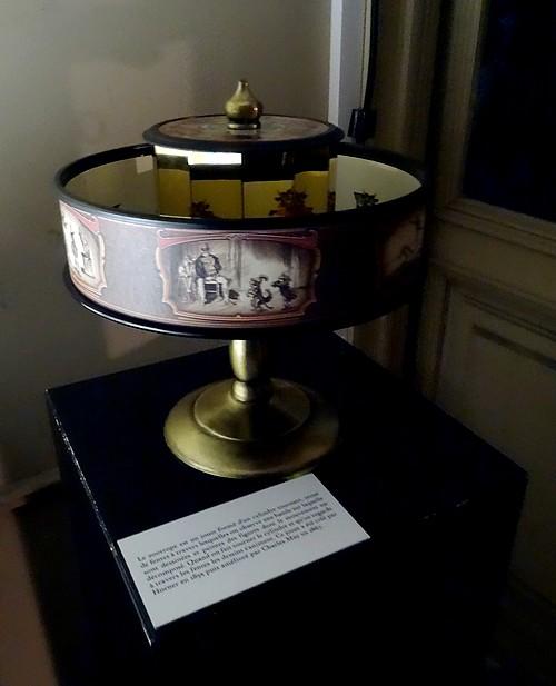 Lanternes magiques et fantasmagories au château de Bussy-Rabutin...