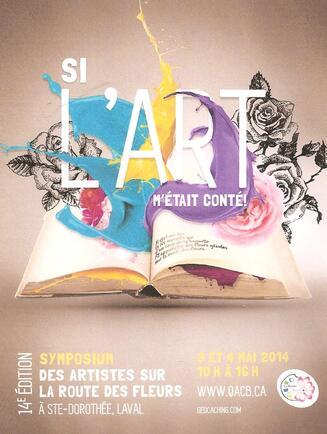Symposium des artistes sur la route des fleurs à Ste-Dorothée