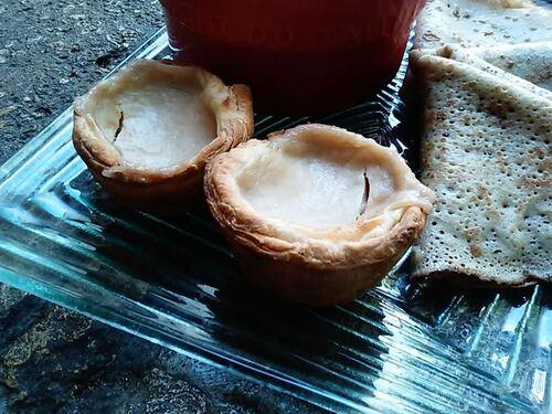 Pastei de Nata coco {Vegan}