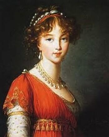 ELIZABETH ALEXEIEVNA DE RUSSIE