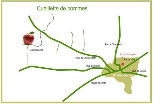 - Cueillette des pommes : J-4 !!