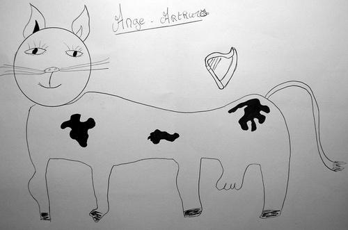 Ange-Arthuro, Le Chat-Vache