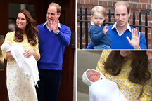 Kate Middleton, Prince George and Prince William