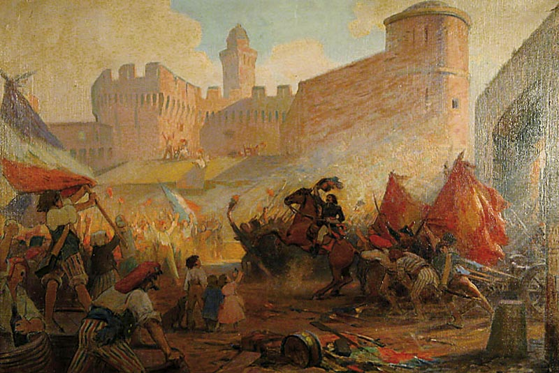La prise de la Bastille : chanson